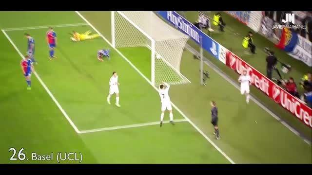 خوشحالی های بعد از گل فوق العاده جالب کریس رونالدو