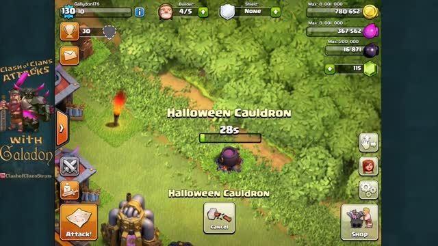 کلش آو کلنز - تغییرات هالووین 2015 (آخرین روز اکتبر)