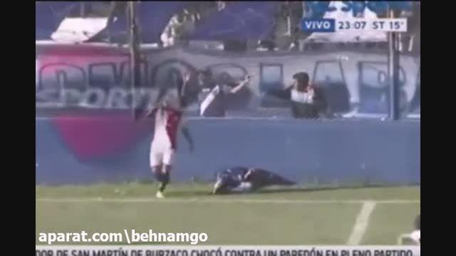 مرگ عجیب فوتبالیست در این حادثه..!