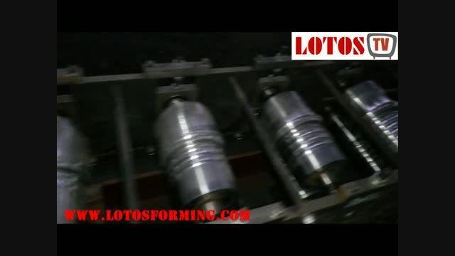 دستگاه فرمینگ تیغه کرکره فوم دار www.lotosforming.com