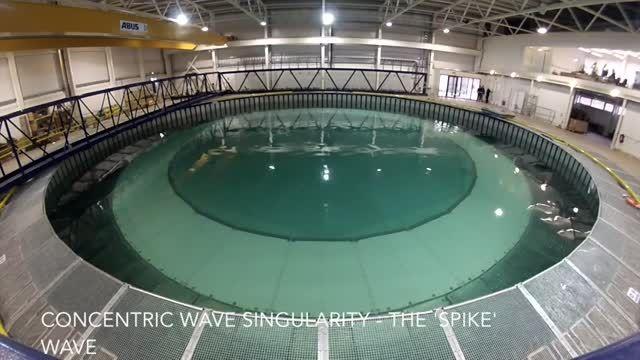 ایجاد موج های مصنوعی جالب