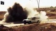 منفجر کردن ادوات ارتش عراق توسط گروه تروریستی داعش!!