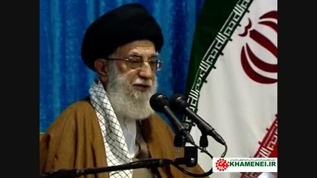دیدار رهبر معظم انقلاب با فرماندهان ارتش در نوشهر
