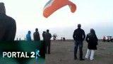 سقوط پاراموتور در دریای خزر(ایران)