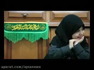 لحظاتی با یک حافظ قرآن سه ساله  معروف به حافظ مخفی