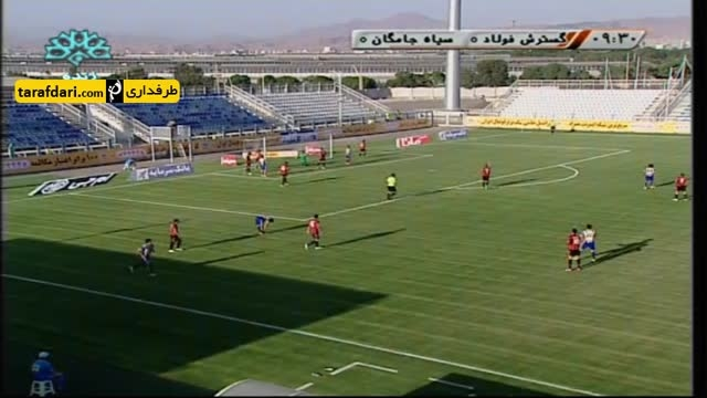 خلاصه بازی گسترش فولاد تبریز 1-0 سیاه جامگان