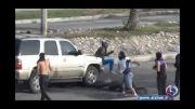 تصاویر تکان دهنده از زیر گرفتن نوجوانی در بحرین