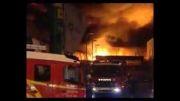 آتش سوزی 680 مغازه در آنکارا