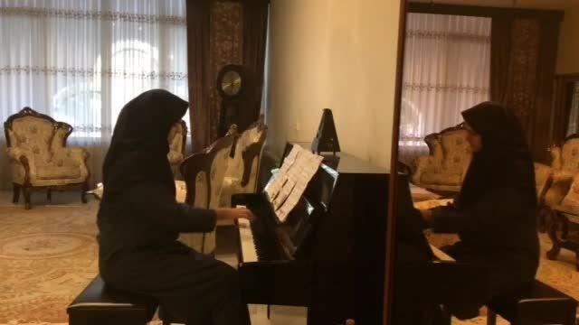 پیانیست جوان-فاطیما امرجی-موسیقی سریال پوآرو(گانینگ)