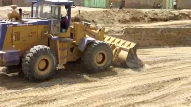 پروژه بهسازی رودخانه فصلی روستای نریمانی