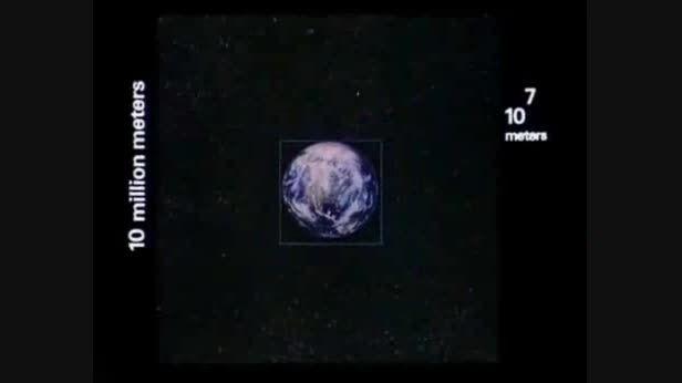 مفهوم صد میلیون سال نوری به روایت تصویر