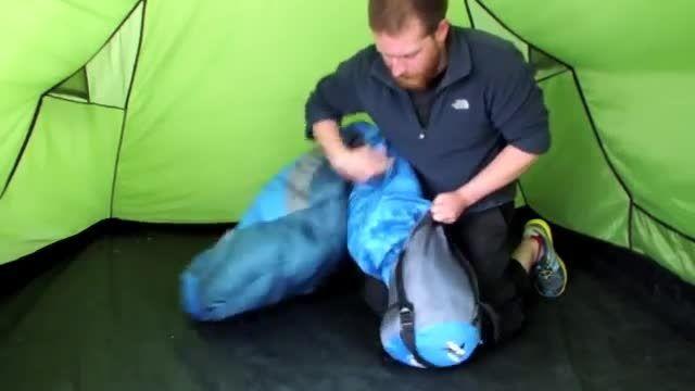 آموزش بستن کیسه خواب