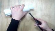 ساخت گلدان با استفاده از جای خالی شامپو