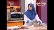 آموزش تهیه نان رول گردویی