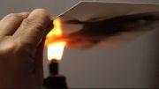 نقاشی های بسیار زیبا با شعله های آتش و دود !!