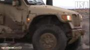 خودروی نظامی تقویت شده