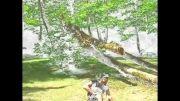 تمرینات پرثوآی مازندران در جنگل
