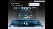 بالا ترین سرعت اینترنت در دنیا