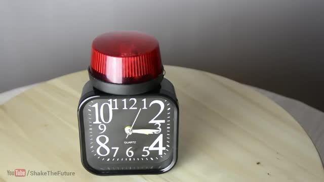 جایگزین آژیر بجایی زنگ،برای ساعت رومیزی