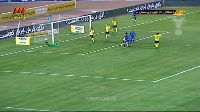 گل پروپیچ؛استقلال تهران(4)-شهردار سمنان (0)/جام حذفی94