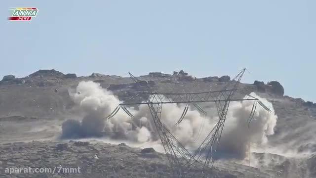گلوله باران مواضع داعش در پالمیرا - سوریه