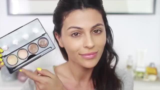 آموزش آرایش - کانتور و هایلایت حرفه ای | CHIPOOSH.COM