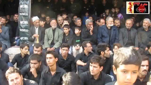 مردم شرکت کننده در مراسم عصر تاسوعای حسینی 94 بفروئیه