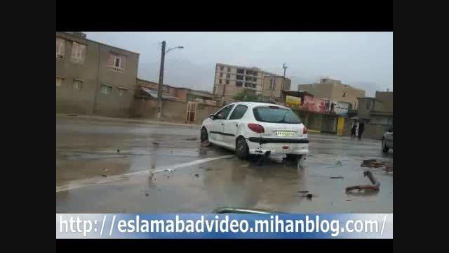 تصاویر امروز ایلام همزمان با بارش باران