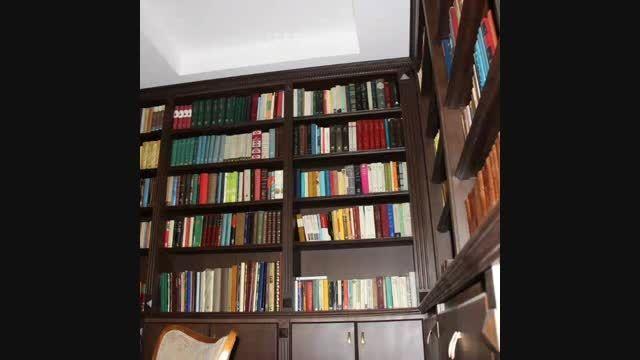 کتابخانه چوبی_زعفرانیه