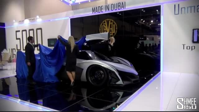 رونمایی از سریع ترین خودروی جهان با سرعت 560 کیلومتر