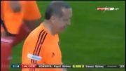 فوتبال بازی کردن اردوغان نخست وزیر ترکیه