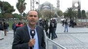 پاپ فرانچسکو در ترکیه در کنار دیگر رهبران