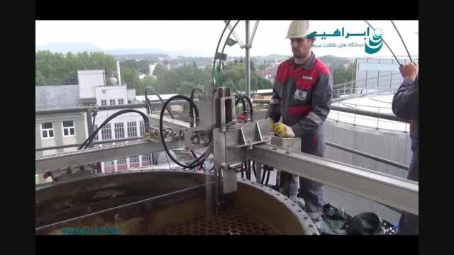 شستشوی سالن های رنگ در صنایع خودرو سازی_جت واش