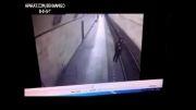 خودکشی فجیع پسر در مترو!!