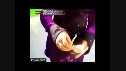 فروش مواد مخدر توسط دختر بچه 6 ساله ...:((((((((