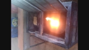 آتش گرفتن بخاری مدرسه