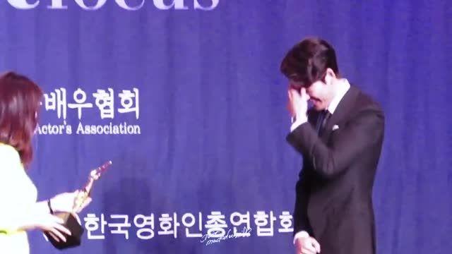Kim WooBin @ 2015 Korea Movie Star Awards