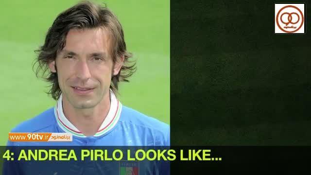 شباهت جالب چهره فوتبالیست ها با بازیگران معروف (۲)