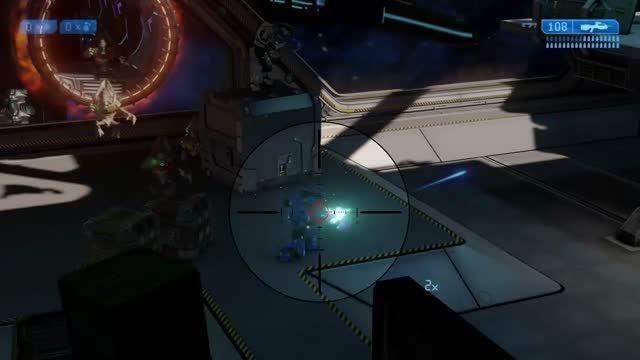 وقتی من HALO در آخرین درجه سختی بازی می کنم.