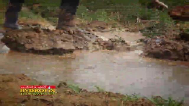 لوله های تاشو آبیاری کشاورزی هیدروفیکس توس کاویان