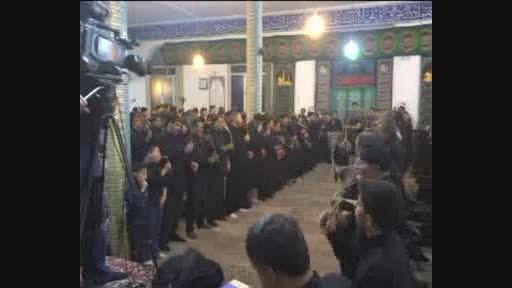 مردم ولایی نیر در عزای سالار شهیدان اشک ماتم ریختند