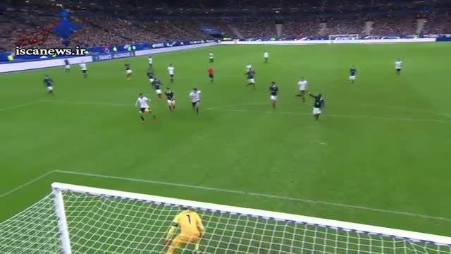 خلاصه بازی جنجالی : فرانسه 2 - 0 آلمان