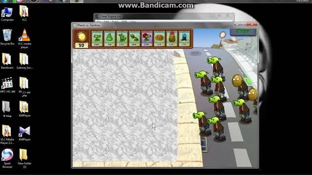 هک بازی پلنت و زامبی 1 در کامپیوتر