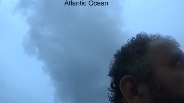 حمایت نیروی هوایی برزیل از یک ایرانی در اقیانوس اطلس