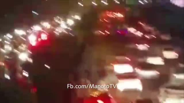 تصادف بی ام و دیگر این بار در یادگار امام