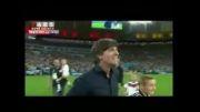 اشکها و لبخندهای فینال جام جهانی 2014