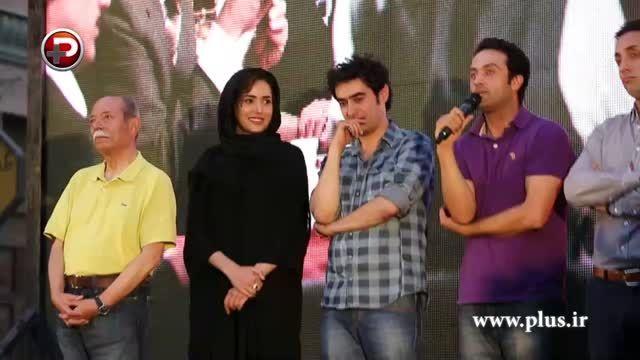 شهاب حسینی،ترانه علیدوستی در شب رونمایی از سریال شهرزاد