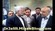 کلیپ اختصاصی ستاد شهر قدس : حضور دکتر سعید جلیلی در جبهه پایداری تهران - 10