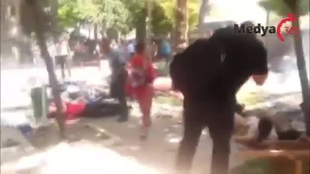 لحظه انفجار در ترکیه(2)-سوریه-عراق-داعش