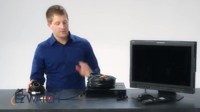 راهنمای تنظیم سیستم امنیتی با دستگاه DVR